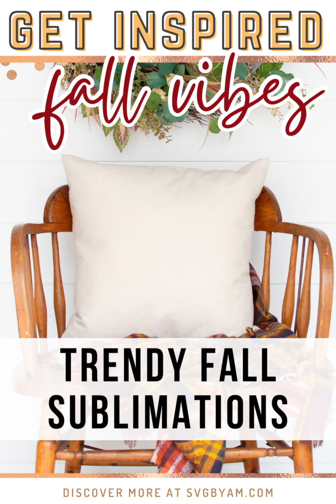 fall sublimation designs