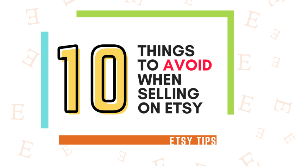 how to sell on etsy successfully